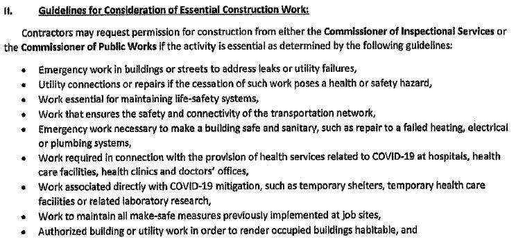 Cambridge Order on Construction